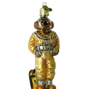 Hard Hat Diver Ornament