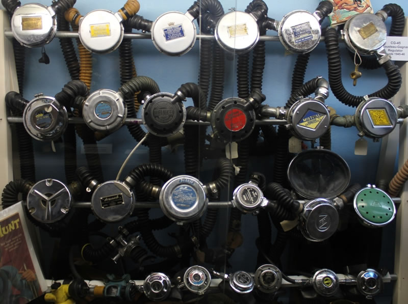 Evolution of Regulators Rebreathers