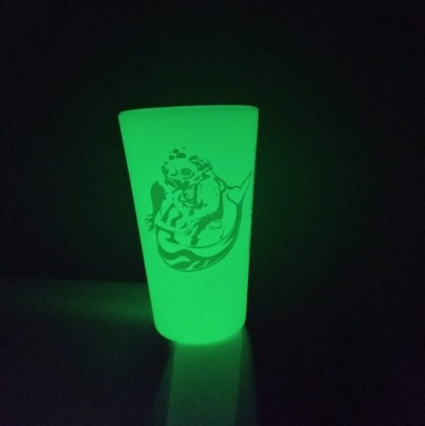 Glow in the Dark Green Cup