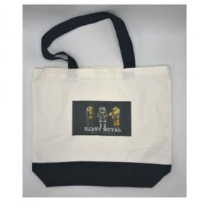 Heavy Metal Canvas Tote