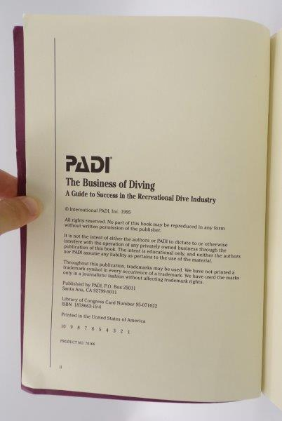 PADI The Business of Diving (4)