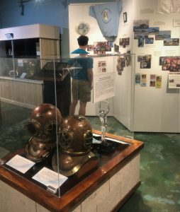 Featured Exhibit: In Depth: 15-Years of the Diving Museum