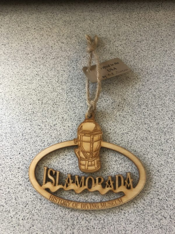 MD Wood Ornament