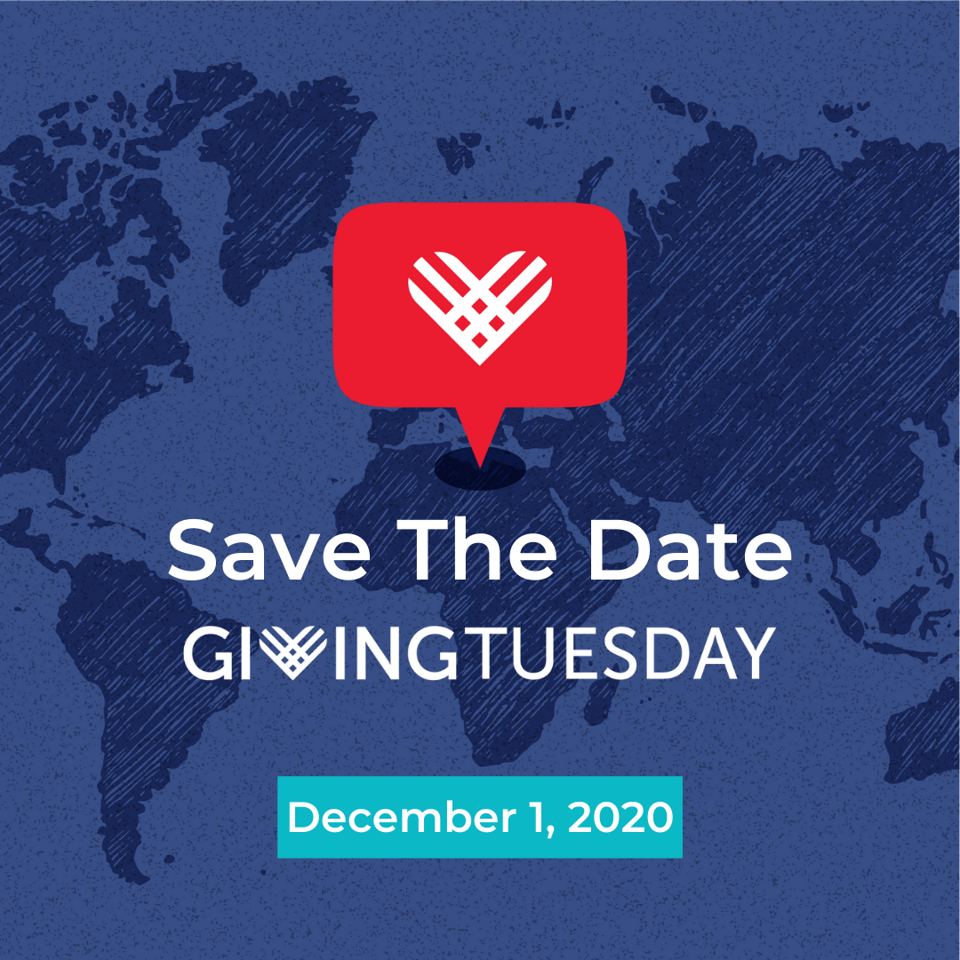 Giving Tuesday Save the Date logo