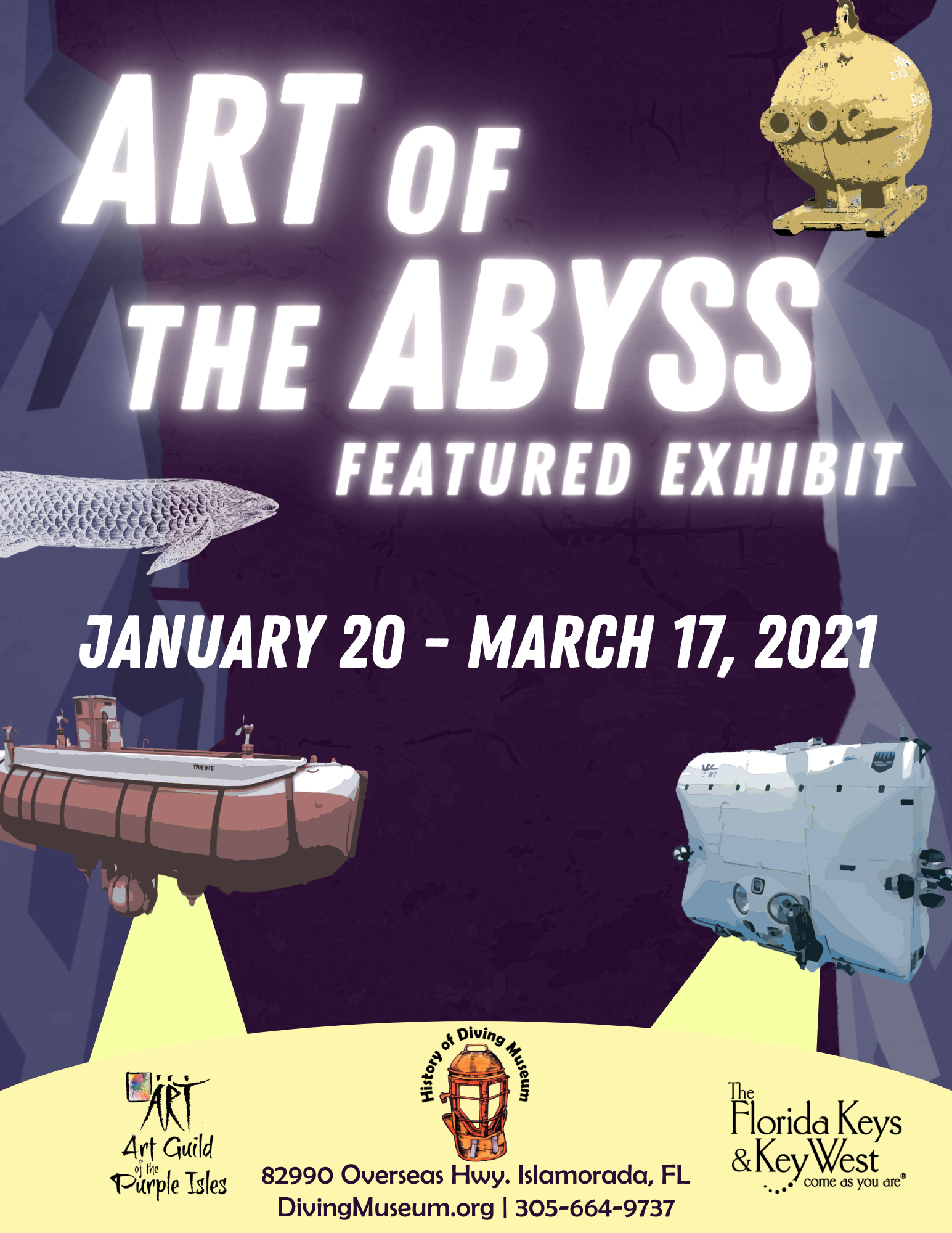Art of the Abyss flyer
