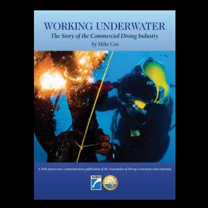 working underwater cover